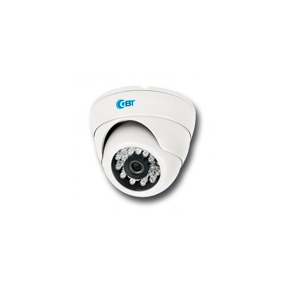 Camera Infra GBT Dome 20mts 700D 1/3 Digital 2,8M 700TVL