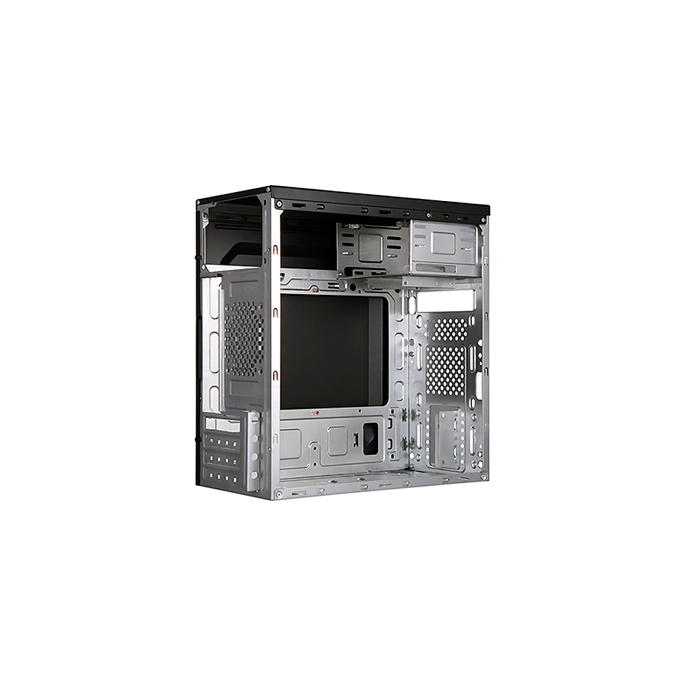 Gabinete C3 Tech Micro-ATX MT-21BK PS-200V2 U2HA C/Fonte 2 baias