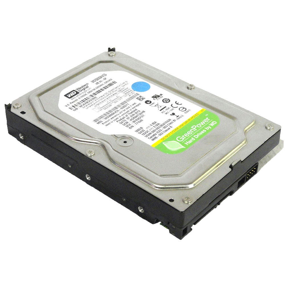 HD 500GB SATA II Western Digital 16MB 7200RPM WD5000AVDS (Gar 1 ano)