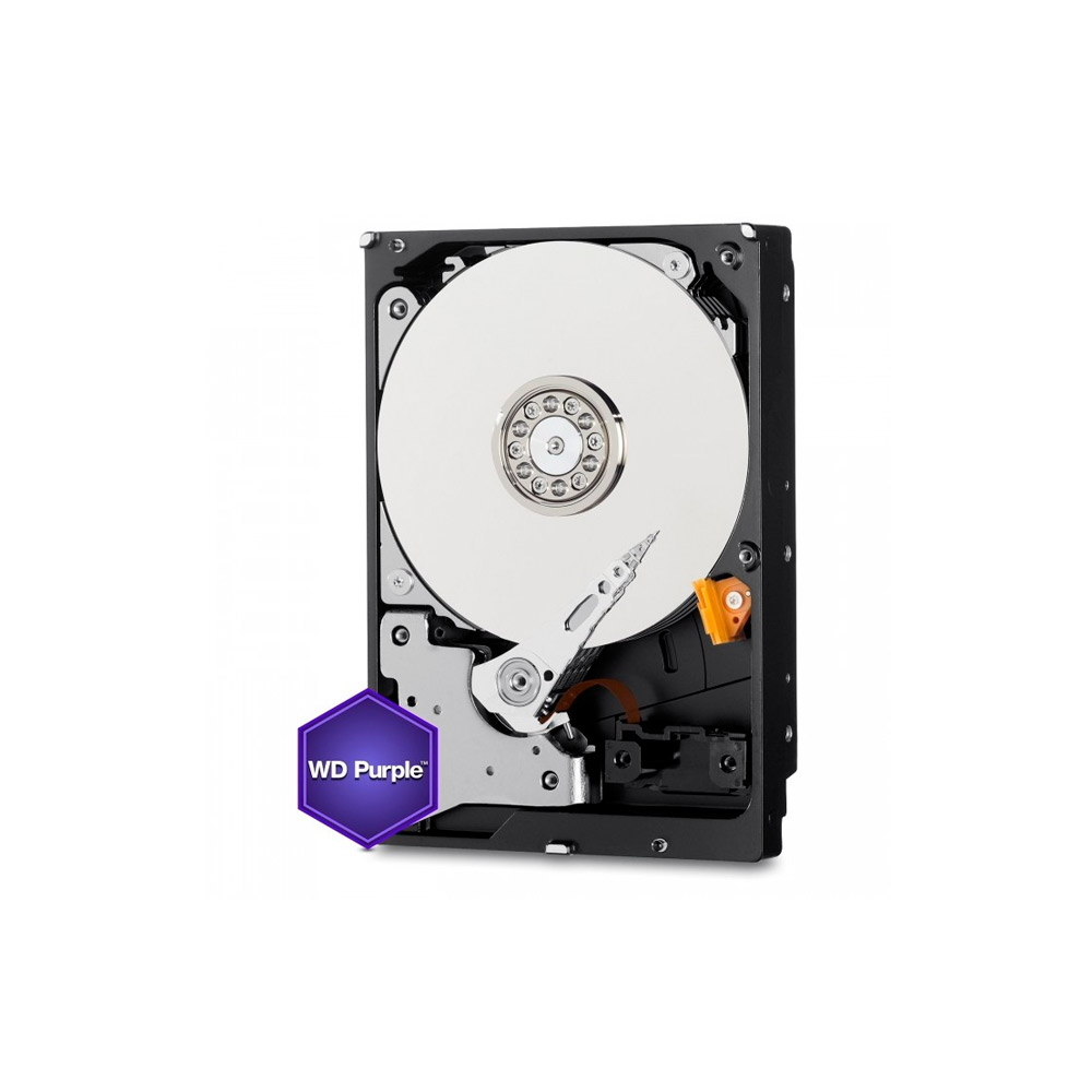 HD 8TB SATA III Western Digital Purple Surveillance 128MB WD80PUZX