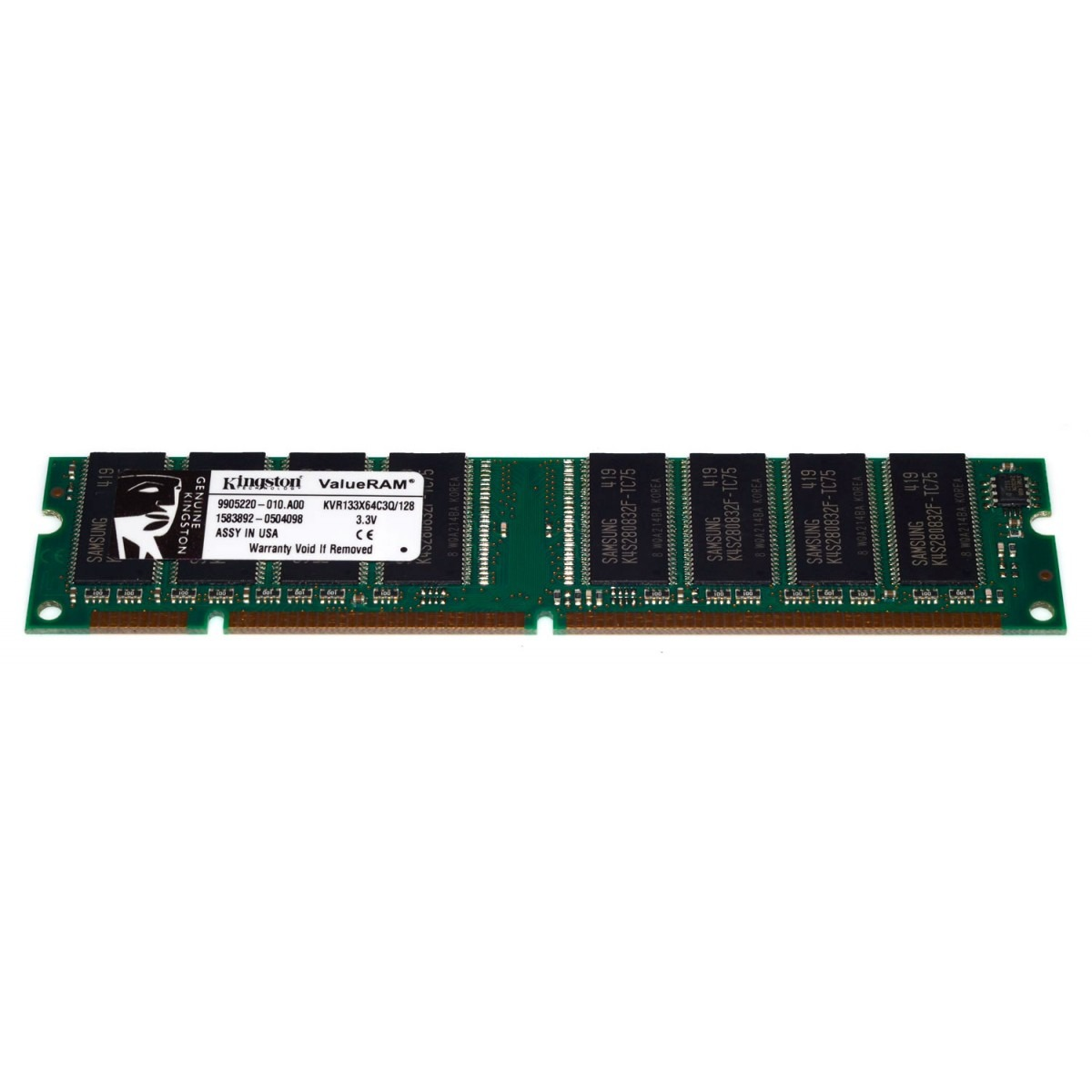 Memória Kingston 4GB DDR3 1600Mhz CL11 Low 1,35V KVR16LN11/4