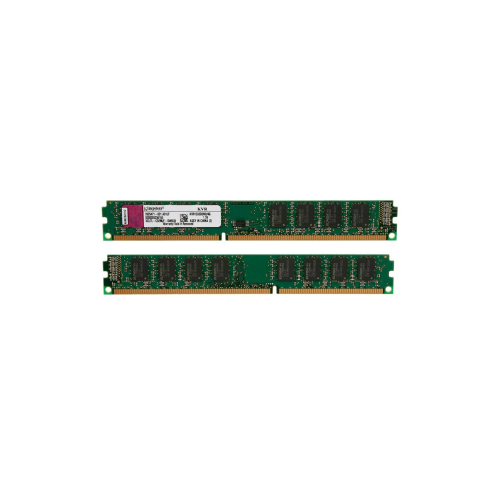 Memória Kingston 4GB DDR3 1333Mhz CL9  KVR1333D3N9/4G (Dell / HP)