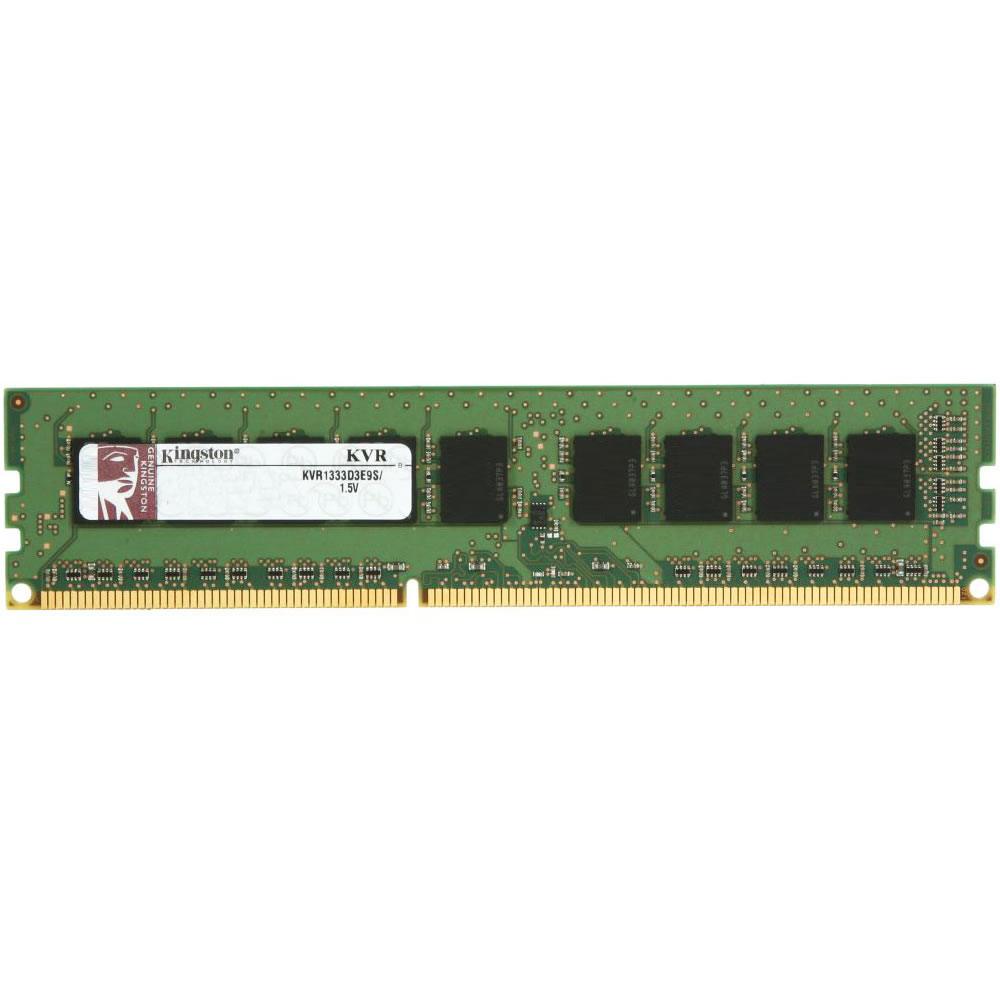 Memória Kingston 8GB DDR3 1333Mhz CL9 ECC KVR1333D3E9S/8G