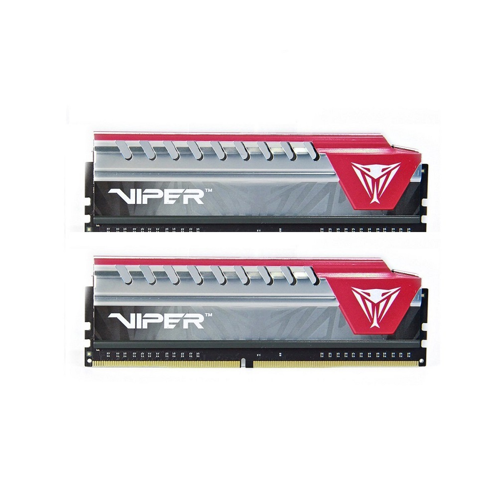 Memória Patriot Viper 16GB DDR4 3200Mhz CL16 PVE416G320C6KRD Kit 2x8gb