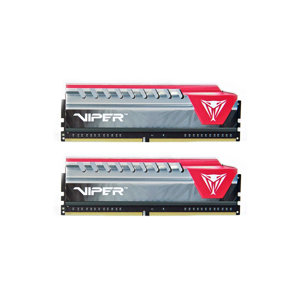 Memória Patriot Viper 16GB DDR4 2400Mhz CL15 PVE416G240C5KRD Kit 2x8gb