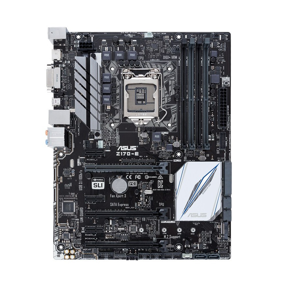 Mother Asus Z170-E 4xDDR4 64Gb/Usb3.1/HDMI/DP/2-WayCrossFirex LGA 1151
