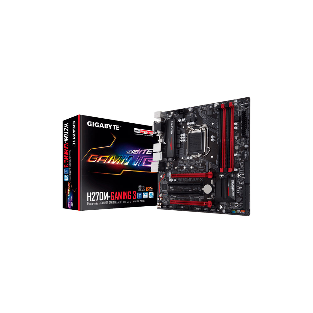 Mother Gigabyte GA-H270M Gaming 3  DDR4 LGA 1151