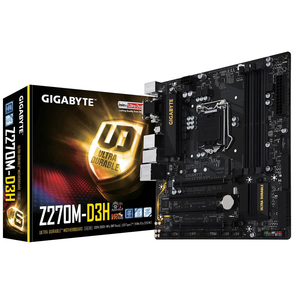 Mother Gigabyte GA-Z270M-D3H  DDR4 LGA 1151