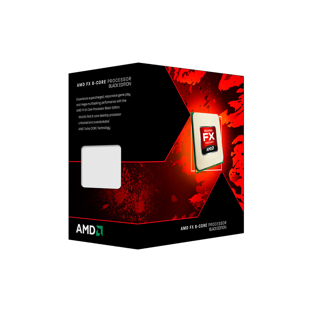 PROCESSADOR AMD FX-8350 VISHERA 4GHZ / 4.2GHZ MAX TURBO OCTA CORE 8MB AM3+ FD8350FRHKBOX