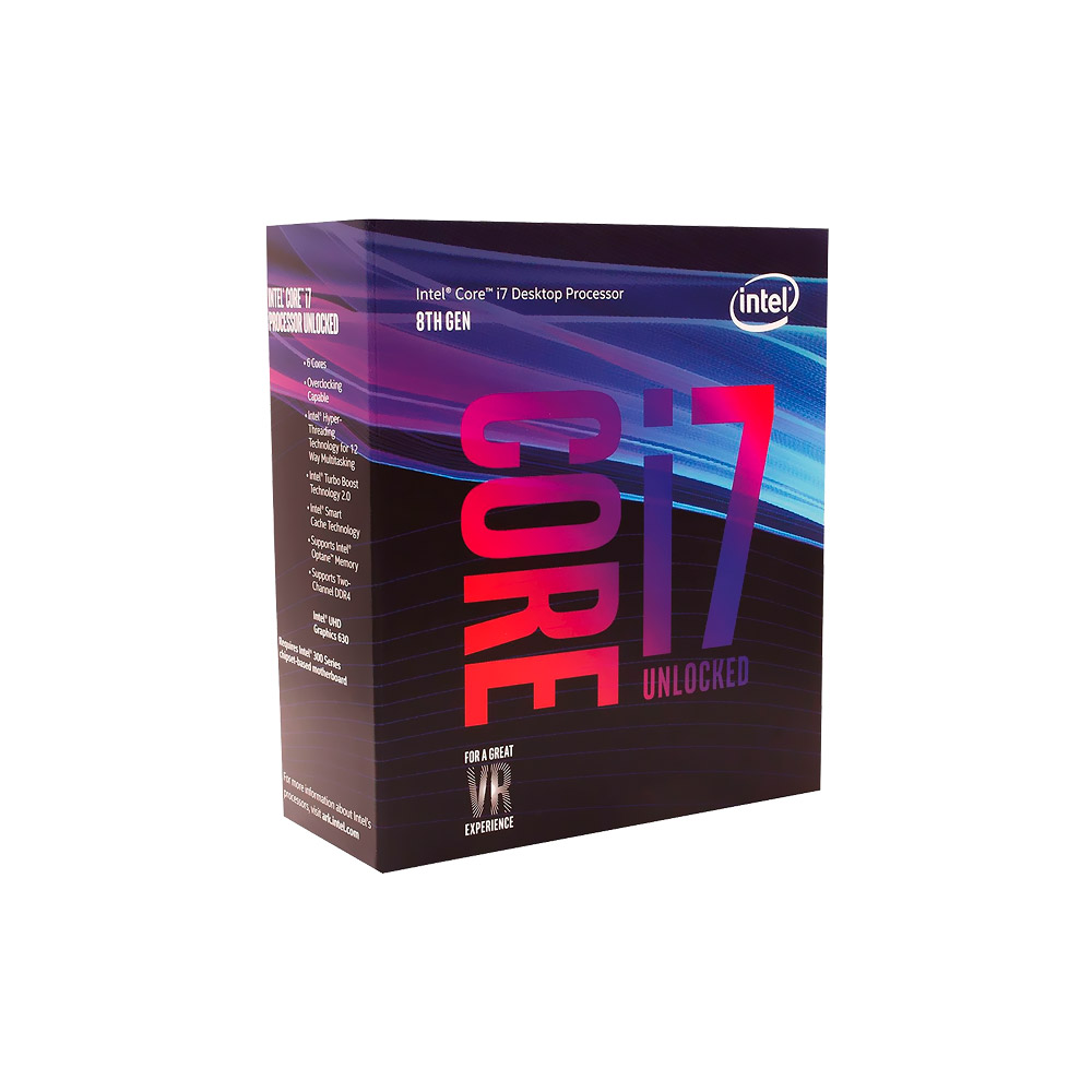 Processador Intel Core I7-8700K Coffee Lake 4.7Ghz 12M BX80684I78700K