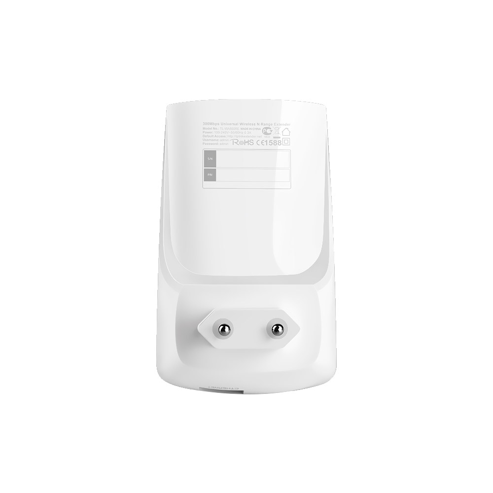 Repetidor Expansor de Sinal TP-Link 300 Mbps TL-WA850RE Wireless