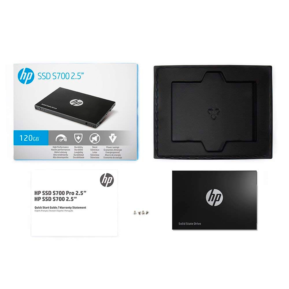 "SSD 120GB HP S700 2.5"" SATA III 6 GB/S3D NAND 2DP97AA-ABC"