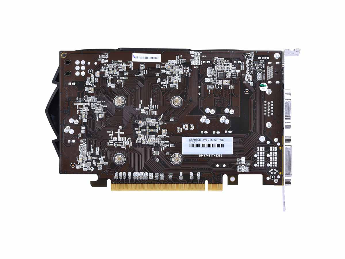 VGA GeForce 2GB GT730 DDR5 128 Bits Dual-Fan - PTYT730GT12802D5 PcYes