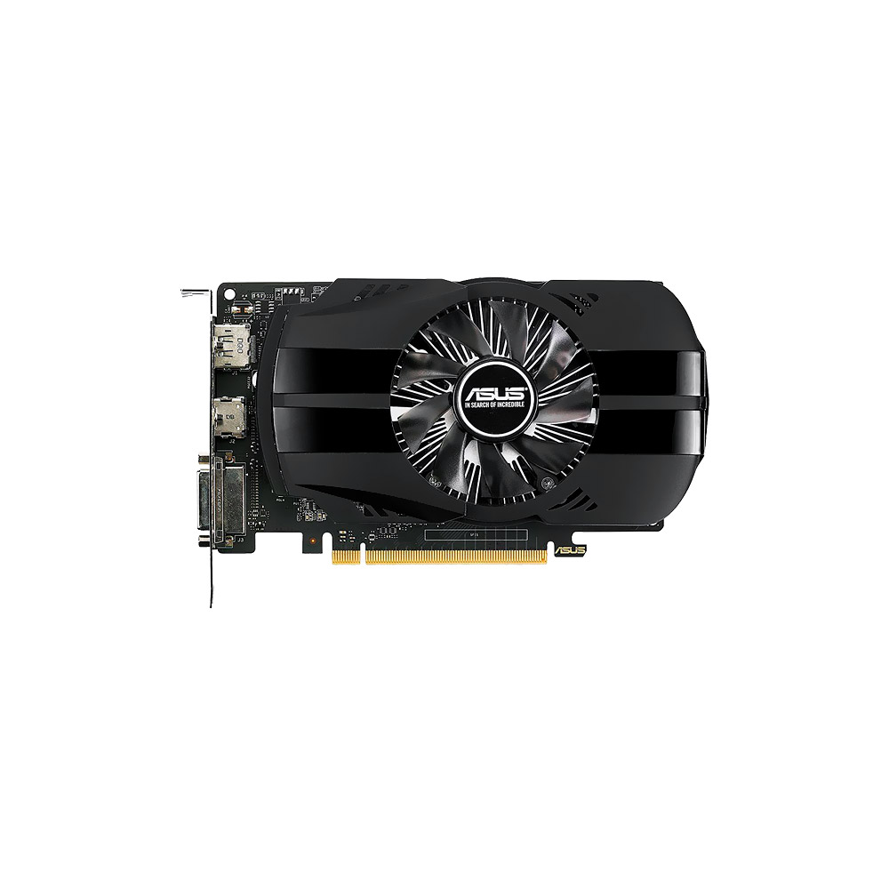 VGA GeForce 2GB GTX 1050  Asus DVI/HDMI/DisplayPort, PH-GTX1050-2G
