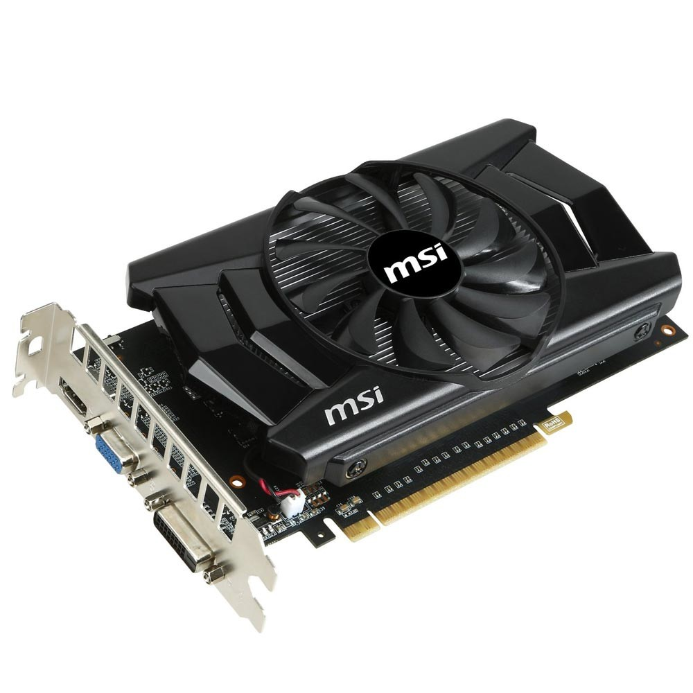 VGA GeForce 2GB GTX750TI MSI DDR5 128 bits N750TI-2GD5/OC