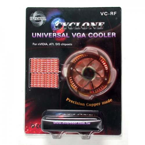Cooler Evercool p/ Placa de Video VC-RF  ATI/NVIDIA