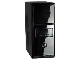 Gabinete WiseCase FT-402/618 Black Piano 4 Baias ( 2 int e 2 ext)