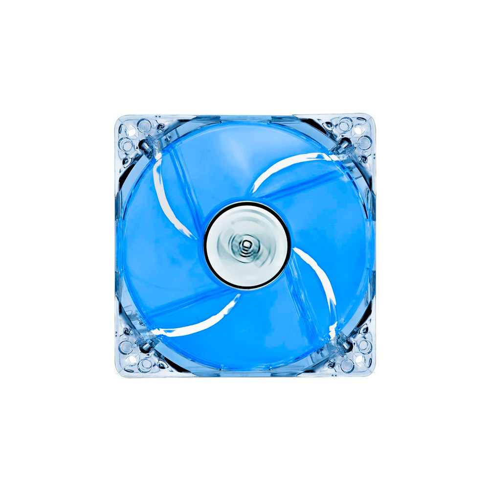 Cooler Deepcool FAN 12 cm Super Silent Big Airflow Blue LED XFAN120L/B