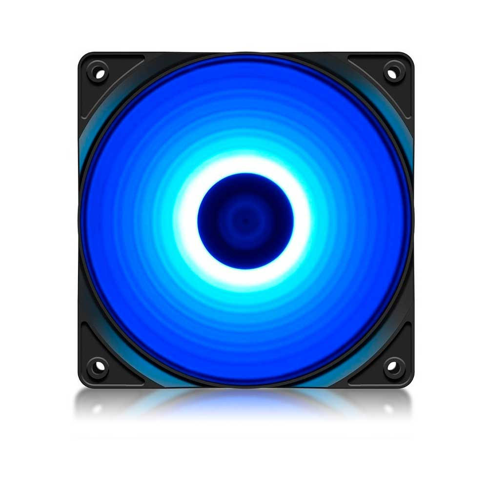 Cooler para Gabinete Deepcool RF120, Led Azul , 120mm, DP-FLED-RF120-BL