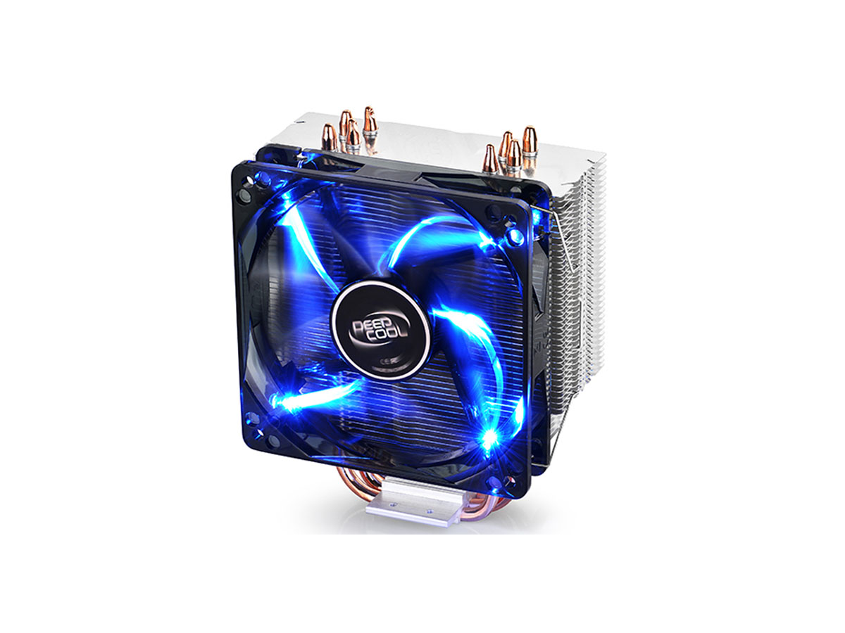 Cooler Deepcool Gammaxx 400 Silente Intel/AMD120mm PWM Fan With Blue Led Light - DP-MCH4-GMX400