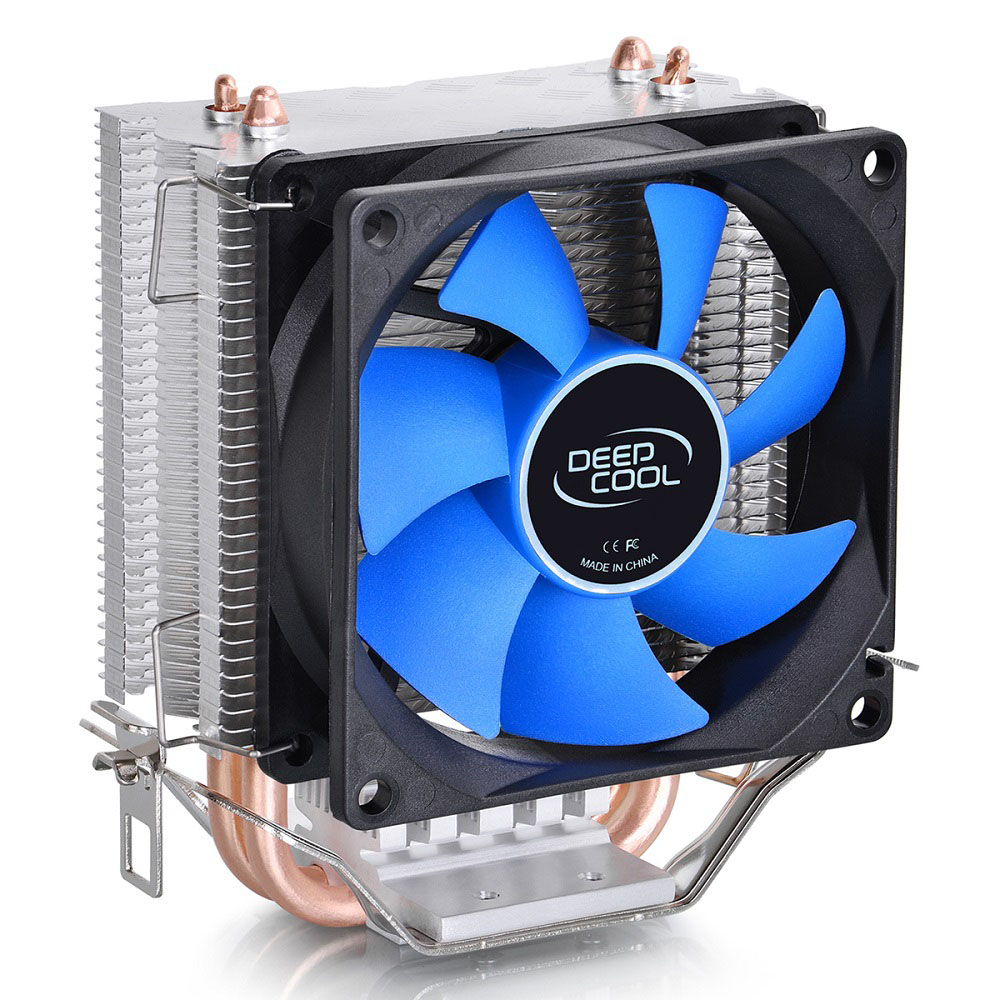 Cooler DeepCool Ice Edge Mini FS V2.0 para Intel/AMD Heat-pipe x2 Super Silent DP-MCH2-IEMV2