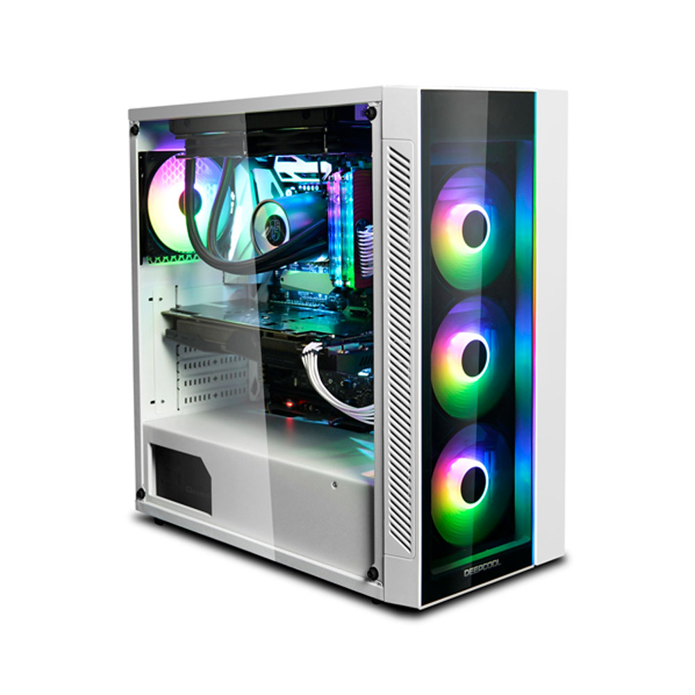 Gabinete Deepcool Matrexx 55 Add-RGB Branco c/ Lateral Vidro