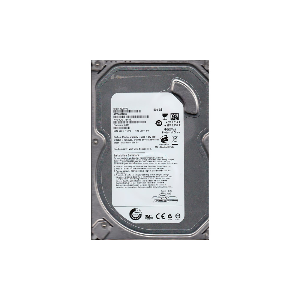 HD 500GB SATA II