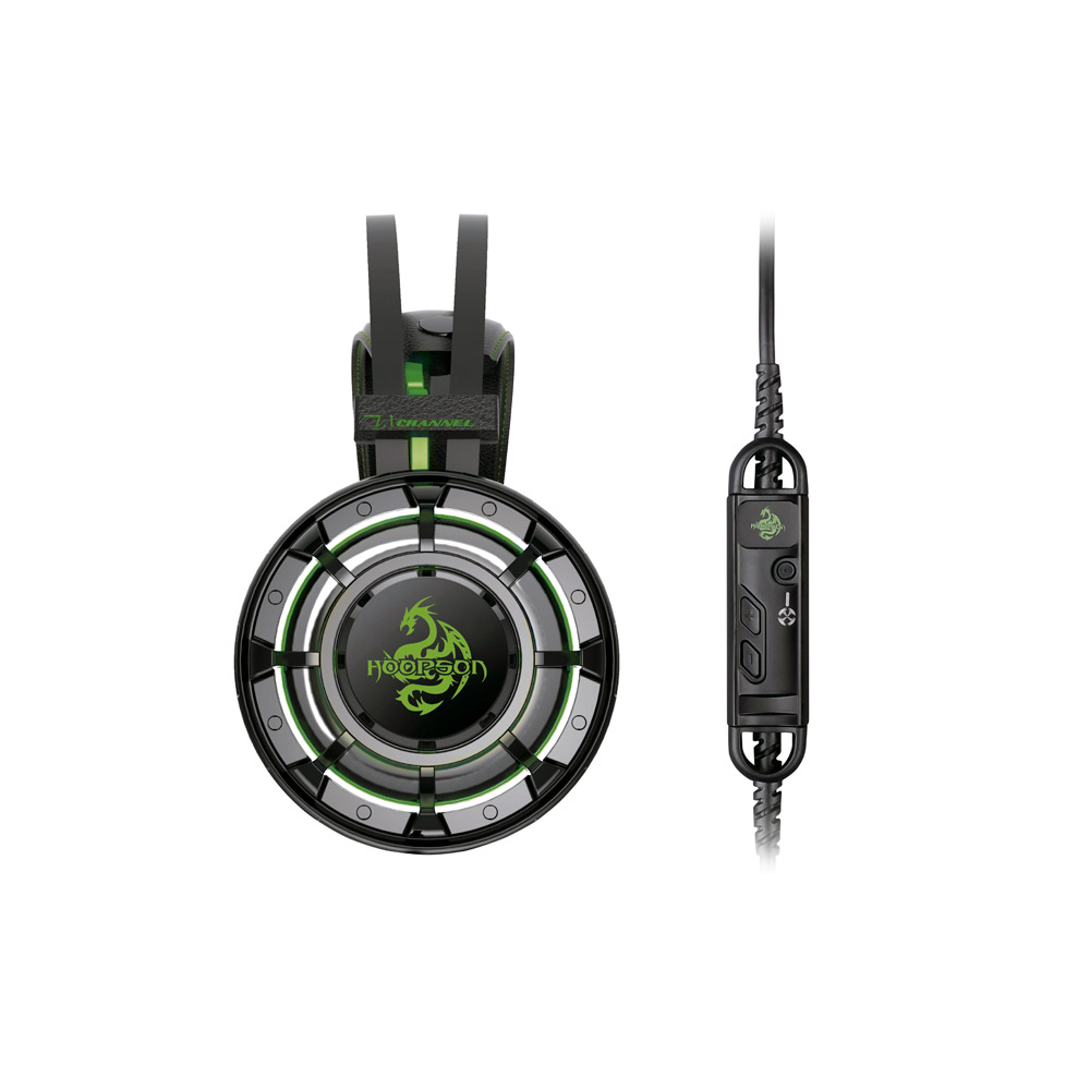 Headset Gamer Hoopson Champion 7.1 Sound Effect Vibração ZH17
