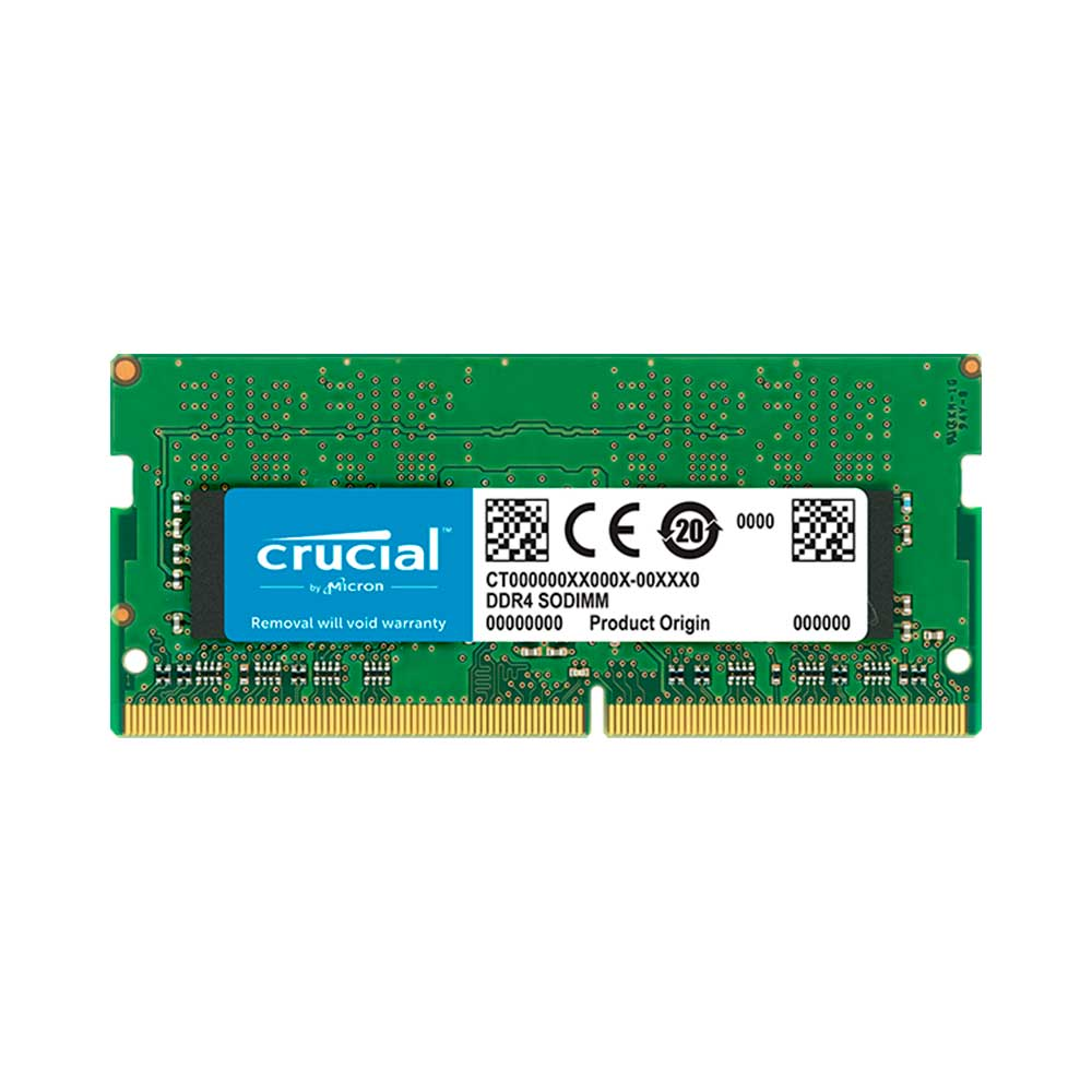 Memória Crucial  8GB DDR4 2666Mhz CL19 CT8G48FRA266 p/ Note