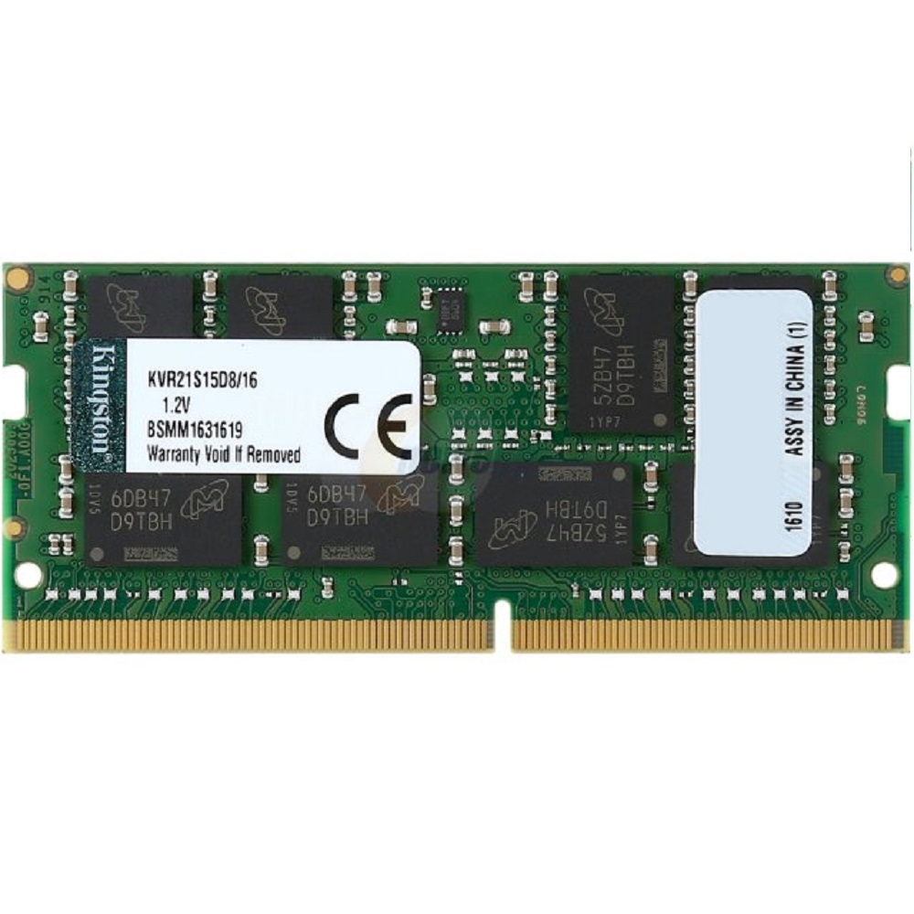 Memória Kingston 16GB DDR4 2133Mhz CL15 KVR21S15D8/16 p/Notebook