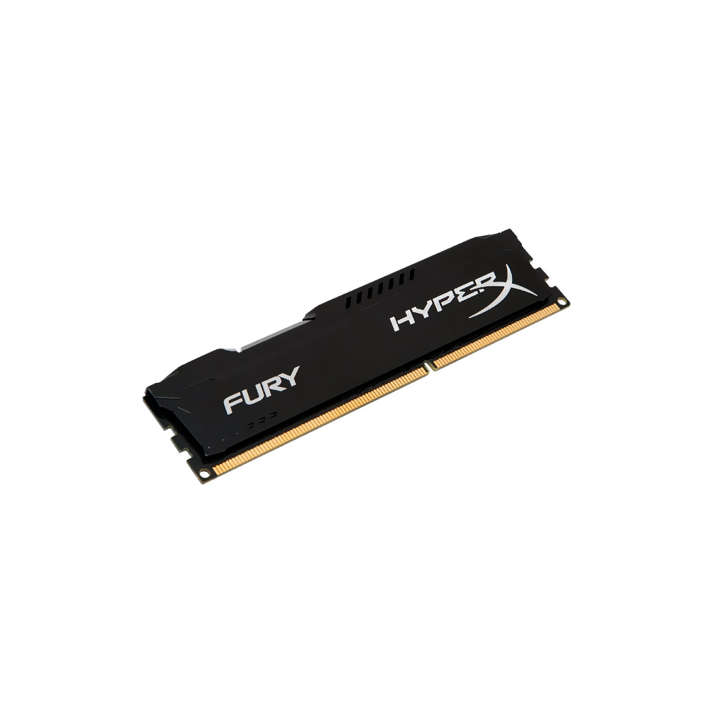 Memória Kingston 8GB DDR3 1333Mhz HyperX Fury CL9 HX313C9FB/8G Black