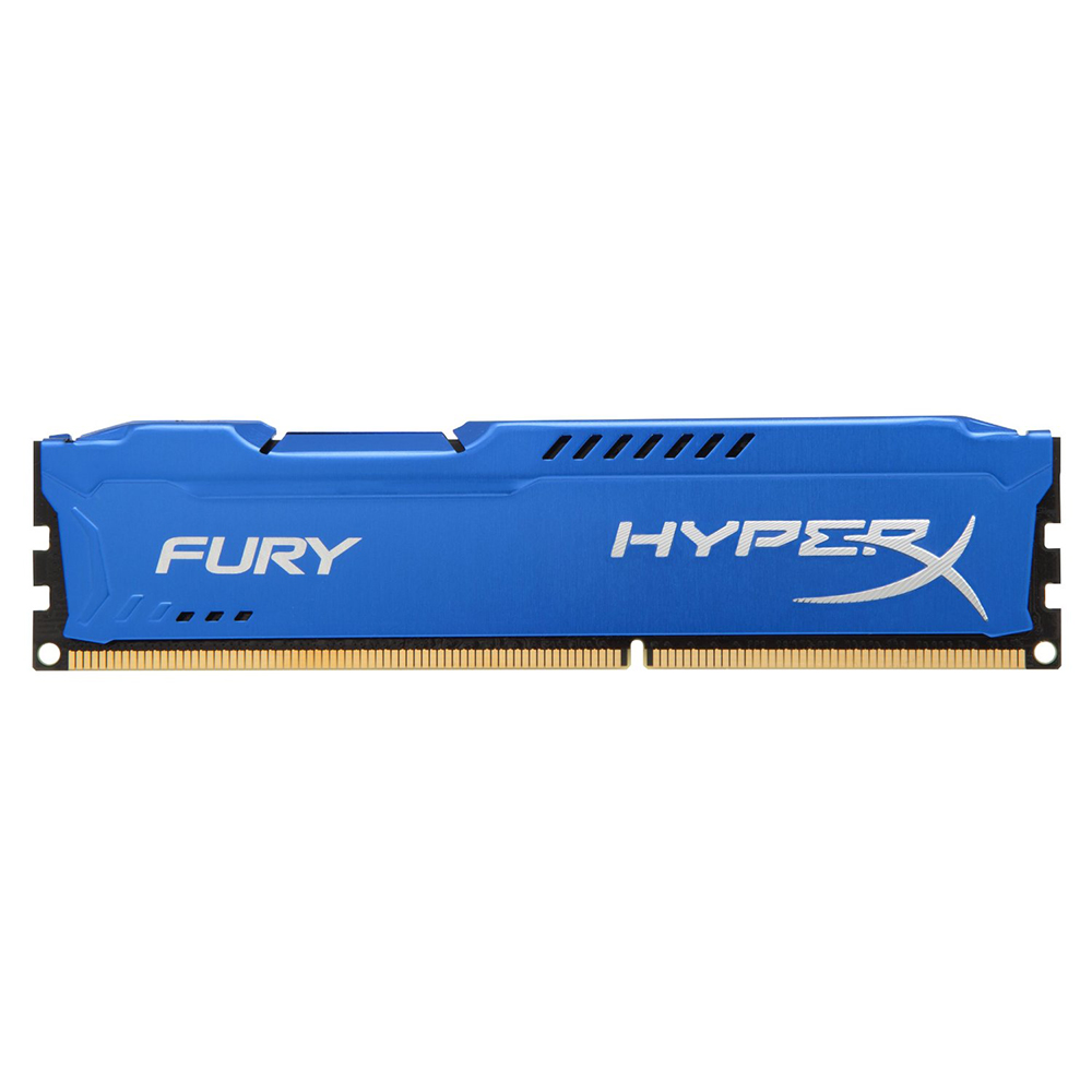 Memória Kingston 8GB DDR3 1600Mhz HyperX Fury CL10 HX316C10F/8 Azul