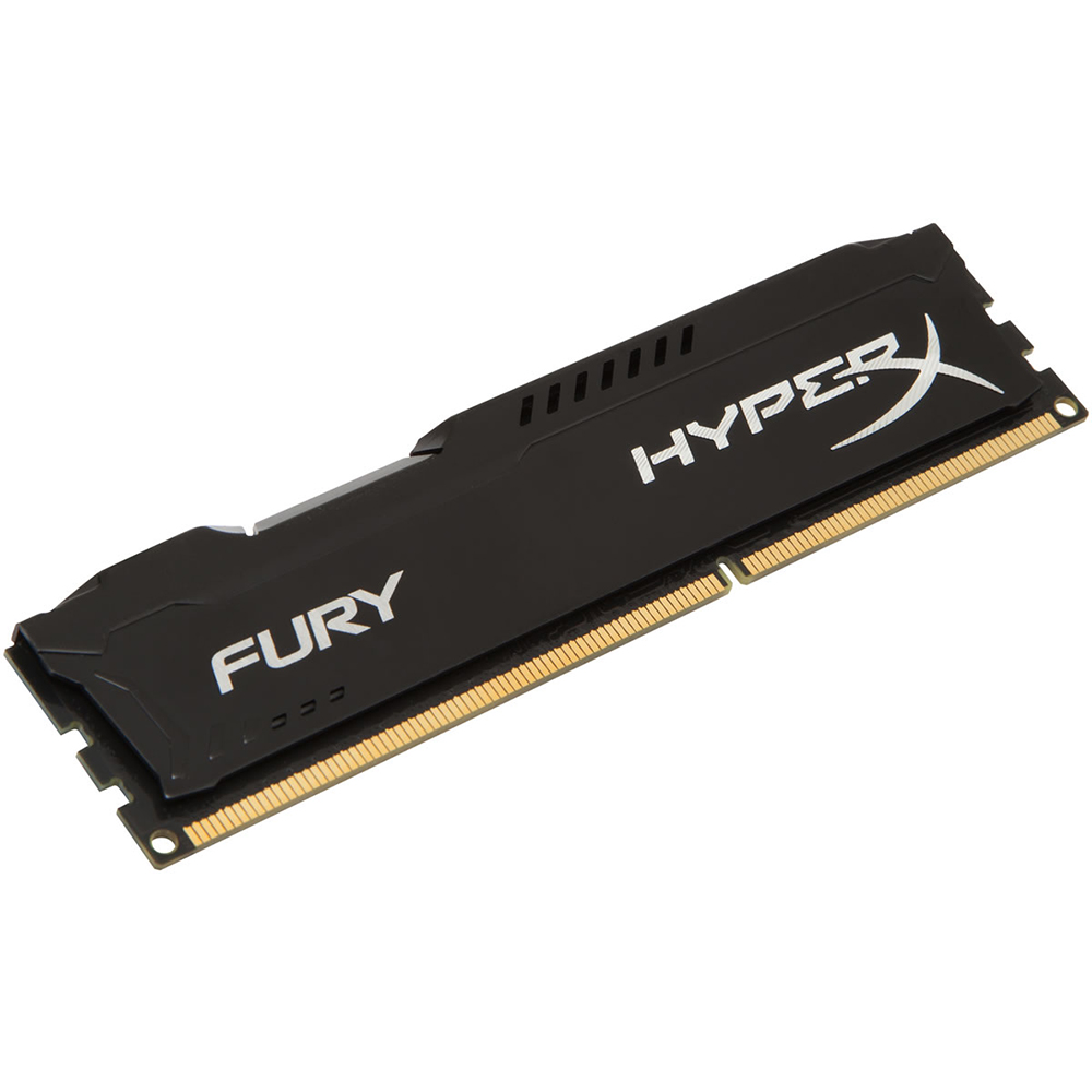 Memória Kingston 8GB DDR3 1866Mhz HyperX Fury CL10 HX318C10FB/8 Black