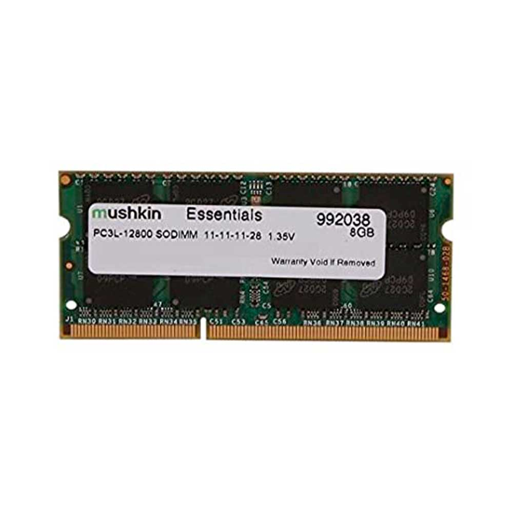 Memória Mushkin Essentials 8GB DDR3 1600Mhz  SODIMM Low Voltage 1,35V para Notebook  - 992038