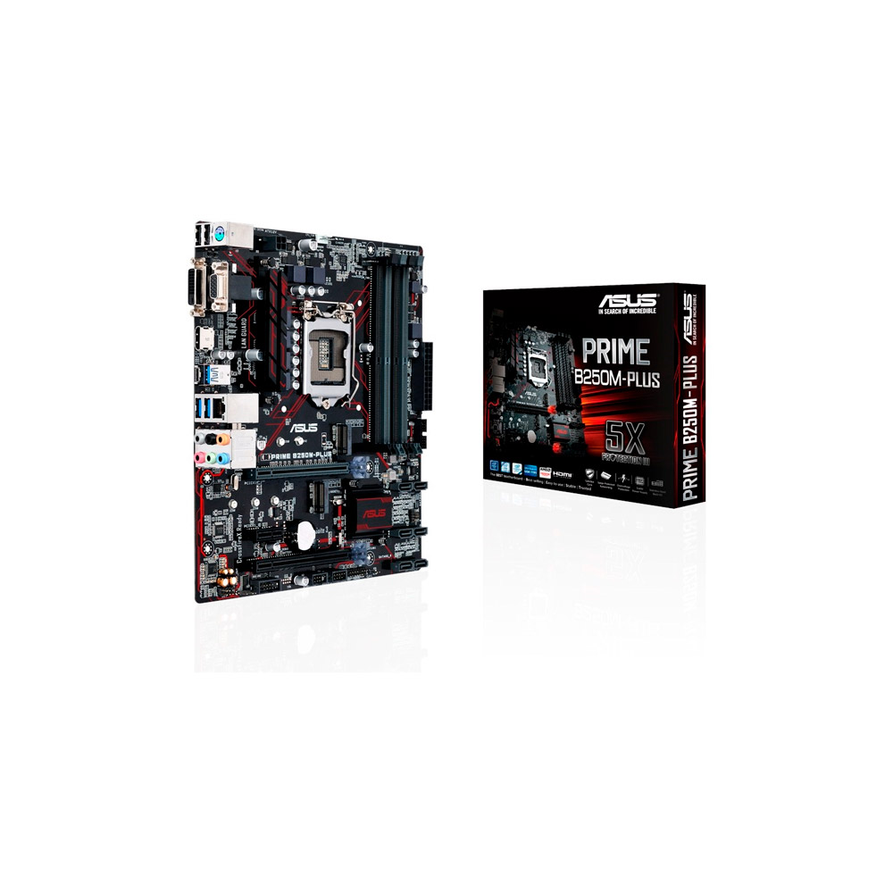 Mother Asus Prime Z270M-PLUS/BR 4 slots DDR4 LGA1151 Vga/Dvi/Hdmi