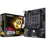 Mother Gigabyte GA-AB350M-DS2 AMD Ryzen DDR4 32 Gb, Vga ,Dv i,Hdmi