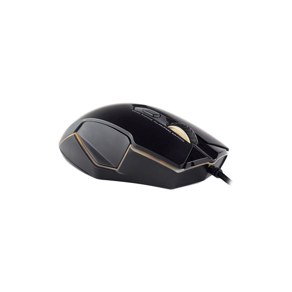 Mouse Gamer Hoopson Programável Switch Omron Panzer GT680 4000 DPI