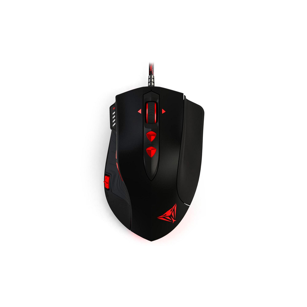 Mouse Gamer Patriot Viper Laser Gaming V560 12000Dpi RGB  PV560LULPWK