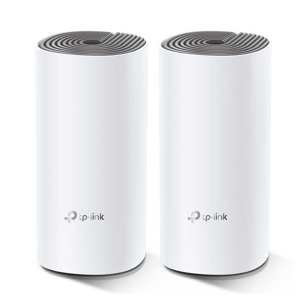 Roteador 1200Mbps TP-Link DECO E4 Wireless AC1200 Sistema Mesh pack 2