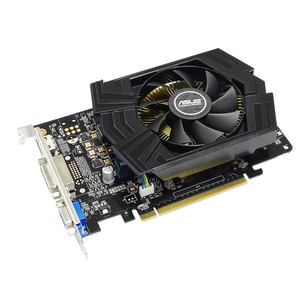 VGA GeForce 2GB GTX750TI Asus DDR5 128 bits- GTX750TI-PH-2GD5 90YV05J3