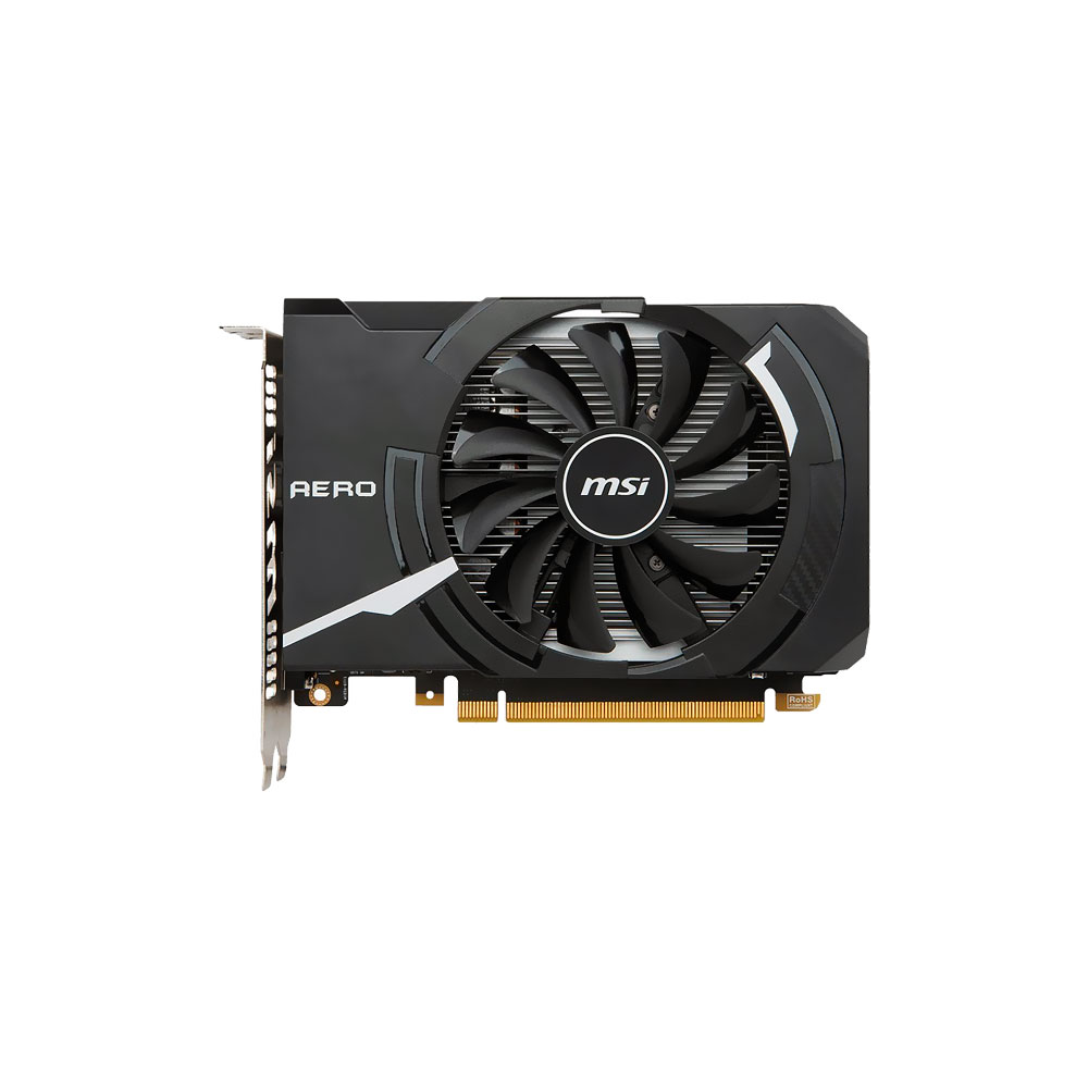 Placa de Vídeo GeForce GTX 1050 Aero ITX OC 2GB GDDR5 128bits MSI