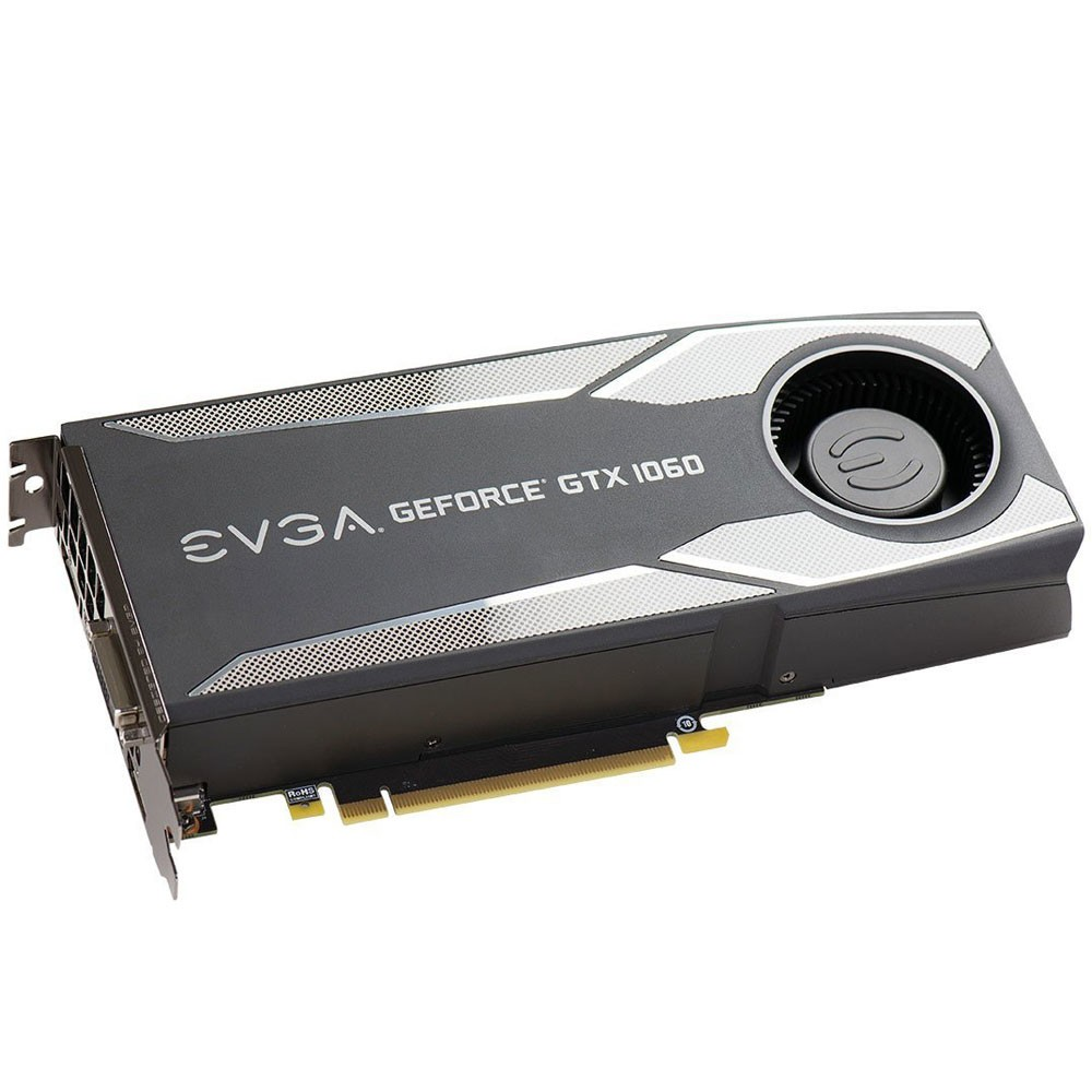 VGA GeForce 6GB GTX 1060 EVGA Gaming GDDR5 06G-P4-5161-KR