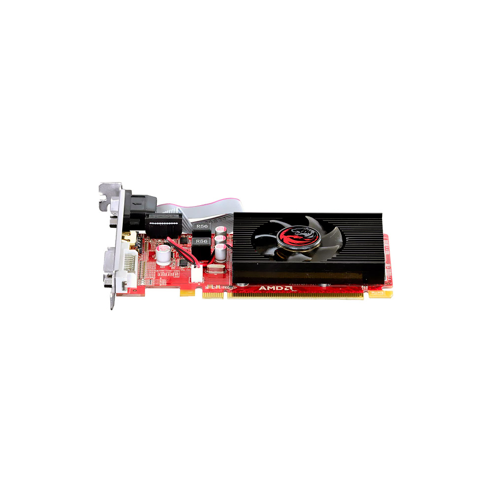 VGA Radeon 1GB HD5450 Pcyes DDR3 64 bits Low Profile PS54506401D3LP